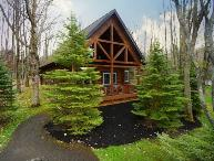 The Evergreen-Log Cabin!