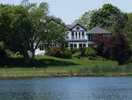 Stately Waterfront 7 Bedroom Home in Westhampton Beach!