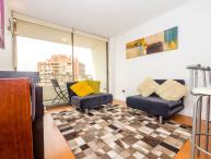 Lovely 1 Bedroom Apartment with Fantastic View in Las Condes
