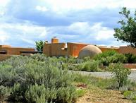 """John Shaw's Earthship House """"green architecture"""" known as """"Earthships"""""""