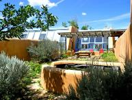 "Unique to Taos is the ""green architecture"" known as ""Earthships"""