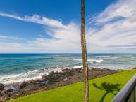 Free Mid-size car with Kuhio Shores 215-Ocean front 2 bedroom. Sleeps 6.
