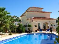 4 bedroom Villa in Calpe, Costa Blanca, Spain : ref 2217488
