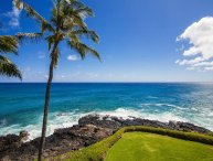 Poipu Shores 304A Gorgeous  oceanfront 2 bed/2 bath with FREE mid-size car
