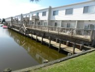 Canal Front 2 BR townhouse North Ocean City