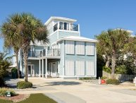 Contemp. Home Near Beach Custom Deck & Priv Pool!