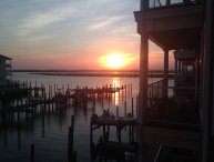 Sunset Bay Villas Chincoteague Island - Sunset in Paradise
