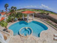 4 bedroom Villa overlooking the north coast of Aruba.