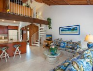 Gorgeous remodeled 3-bdrm, AC, Across from beach!!