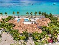 Petite Plage 4 at Grand Case Village,  Saint Maarten - Beachfront, Pool, Sunset