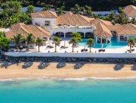 PETITE PLAGE IV...amazingly beautiful 4+ 1 BR  villa with private beach in Grand Case
