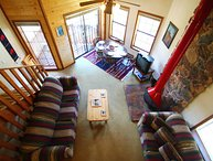 Riverbend Townhouse #8 - On the River, King Bed, Downstairs Studio