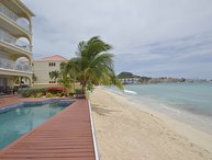SEA BEACH TREASURE...Gorgeous 2BR Penthouse on Simpson Bay Beach, St Maarten