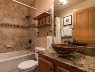 Arapahoe Lodge 8105, copper basin sinks, granite counters, awesome upgrades!