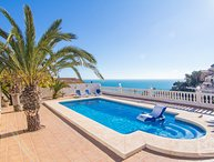 5 bedroom Villa in Calpe, Costa Blanca, Spain : ref 2031783