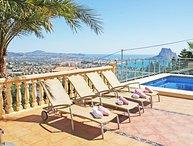 5 bedroom Villa in Calpe, Alicante, Costa Blanca, Spain : ref 2239925