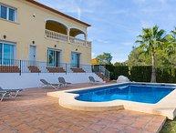 5 bedroom Villa in Javea, Costa Blanca, Spain : ref 2296178