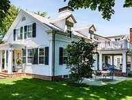 COLEL - Stunning Greek Revival, Newly Updated, Edgartown Village Area, Walk to Fuller St and Lighthouse Beaches