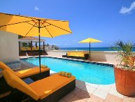 Sunset - Sint Maarten Beachfront Villa Within a Short Walk to Maho