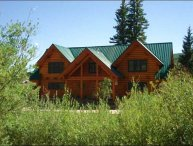 Riverside Log Cabin Home - Located on Three Acres of Land (1193)