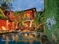 Enchanting villa- cable, internet, across from beach, private pool, a/c
