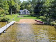 Sunset Shores Lake House - Lakefront Private Beach & Dock