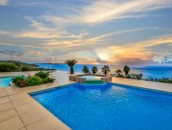 DREAMIN BLUE... Gorgeous panoramic sunset views, in beautiful Happy Bay!