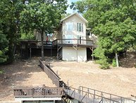 Osage Beach Lakefront Home w/ Dock & Hot Tub