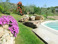 Private villa with pool with 7 bedrooms just 900 meters from Montepulciano