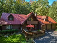 Lake access mountain home close to Swallow Falls!