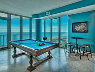 Penthouse Palace takes Entire 16th floor, 2 wrapped balconies, Pool Table