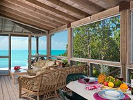 Oceanside Tower Villa is a magnificent ocean front property with fantastic views of the Caribbean waters and Caicos Banks