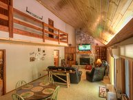 Spacious Mountain-style Home on Sugar Mtn with Hot Tub, King Beds, Game Room, Fire Pit, Creekside Dock, and Slopeside Access!