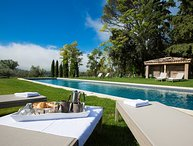 Beau Luberon holiday vacation wedding large villa rental france, provence, lourm