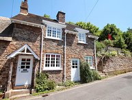 Stag Cottage, Porlock - Charming cottage with character in Porlock village on Ex