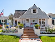 Five bedroom ocean view cottage by Corona Del Mar State Beach!