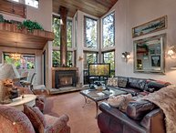 Organic Architectural Style Tahoe Home, located in a Lakefront Community (SK05)