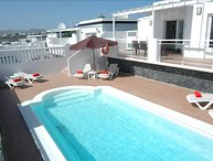 Villa with Great Sea Views and Gated Pool in Puerto del Carmen LVC204213