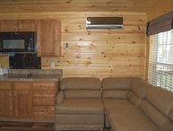 2 Bedroom Park Model Cabin at Fort Whaley Campground!