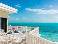 Hampton House, a 3BR beachfront villa on Long Bay Beach