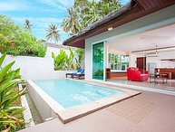 Moonscape Villa 205 | 5 Star 2 Bed Samui Pool Villa Rental