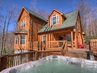 Distinguished Log Cabin with a Contemporary Touch on Beech Mountain, Close to