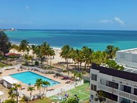 msFantastic View- Direct on Isla Verde Beach- Steps From Everything