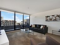 Stylish Spencer Street apartment