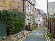 TENBY, three bedrooms, woodburner, enclosed patios, off road parking, in Whitby, Ref 905458