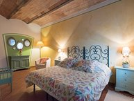 Self-catering apartment with one bedrooms in the Chianti area, apt. #6