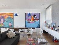 Artsy 3 Bedroom Triplex Penthouse with Amazing Ipanema Views