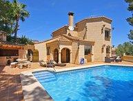 3 bedroom Villa in Denia, Alicante, Costa Blanca, Spain : ref 2127186