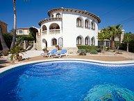 4 bedroom Villa in Calpe Calp, Costa Blanca, Spain : ref 2217016
