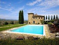 8 bedroom Villa in Bucine, Valdarno, Tuscany, Italy : ref 2386032